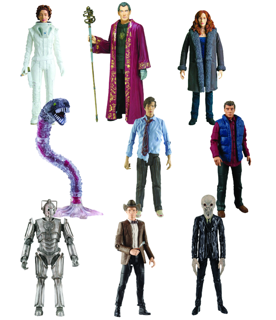 DOCTOR WHO AF 3PK 6PC ASST