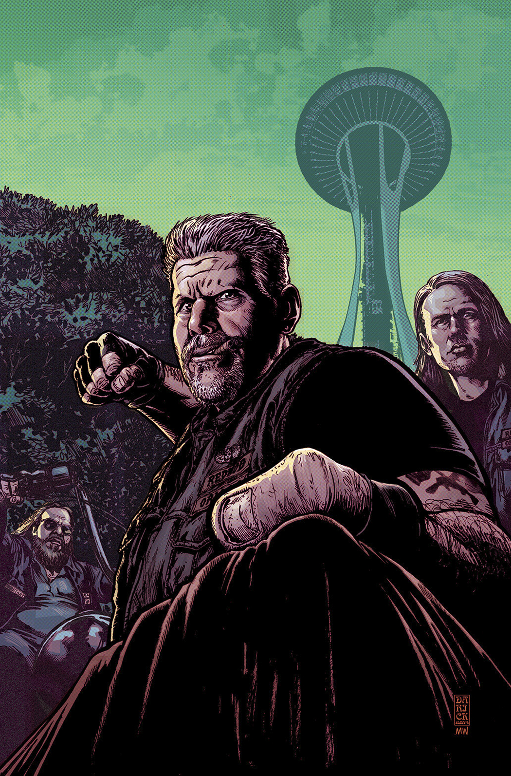 SONS OF ANARCHY #7 ECCC EXC VAR