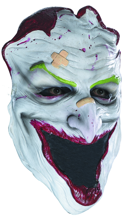 DC HEROES JOKER SKIN ADULT MASK