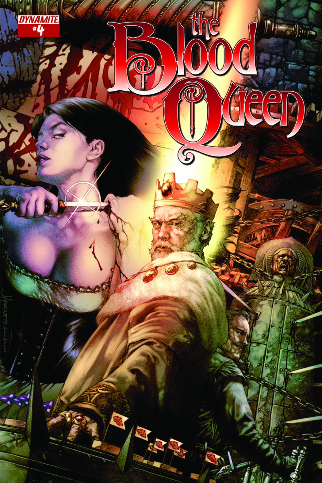 BLOOD QUEEN #4 CVR A ANACLETO
