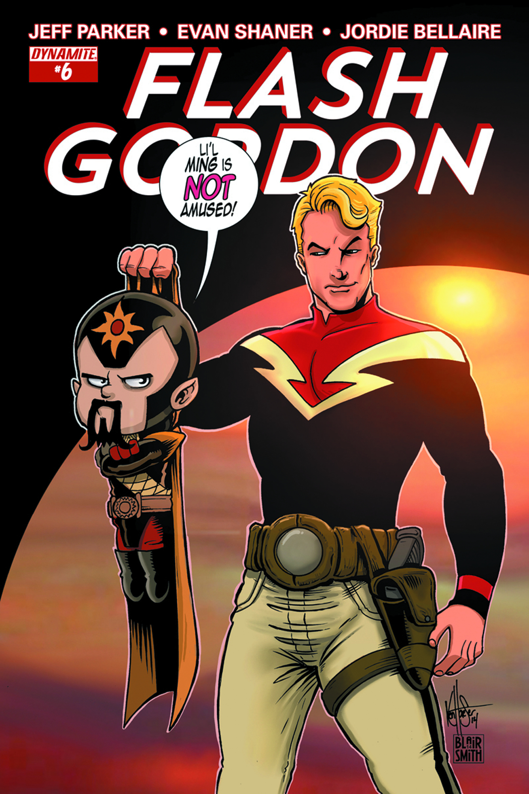 FLASH GORDON #6 HAESER EXC SUBSCRIPTION VAR