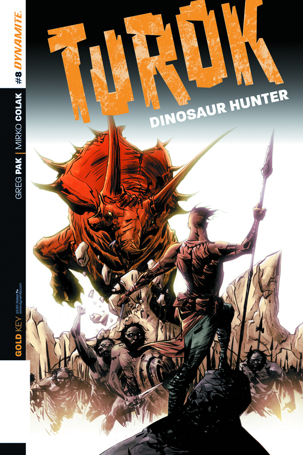 TUROK DINOSAUR HUNTER #8 LEE EXC SUBSCRIPTION VAR