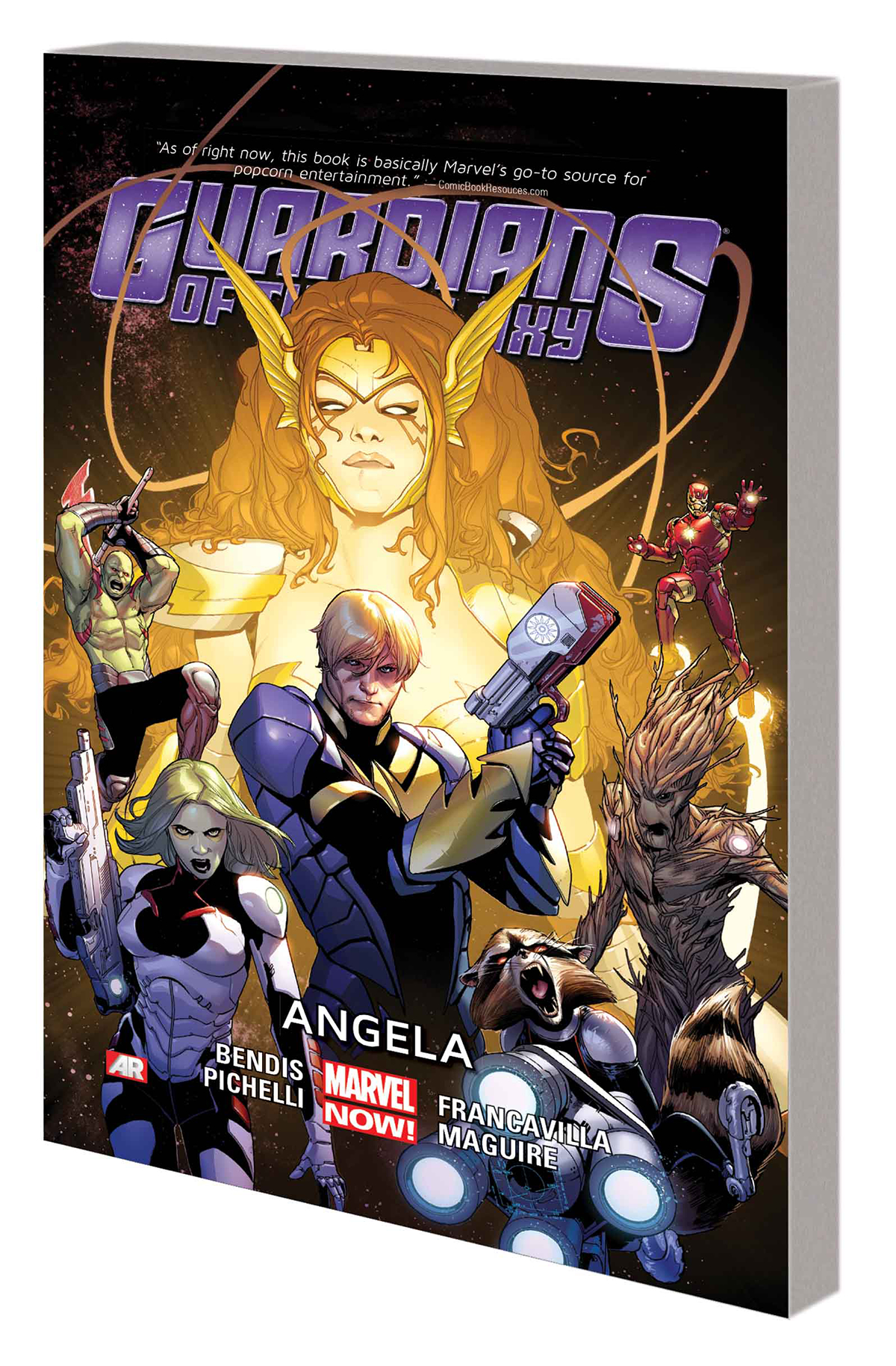GUARDIANS OF GALAXY TP VOL 02 ANGELA