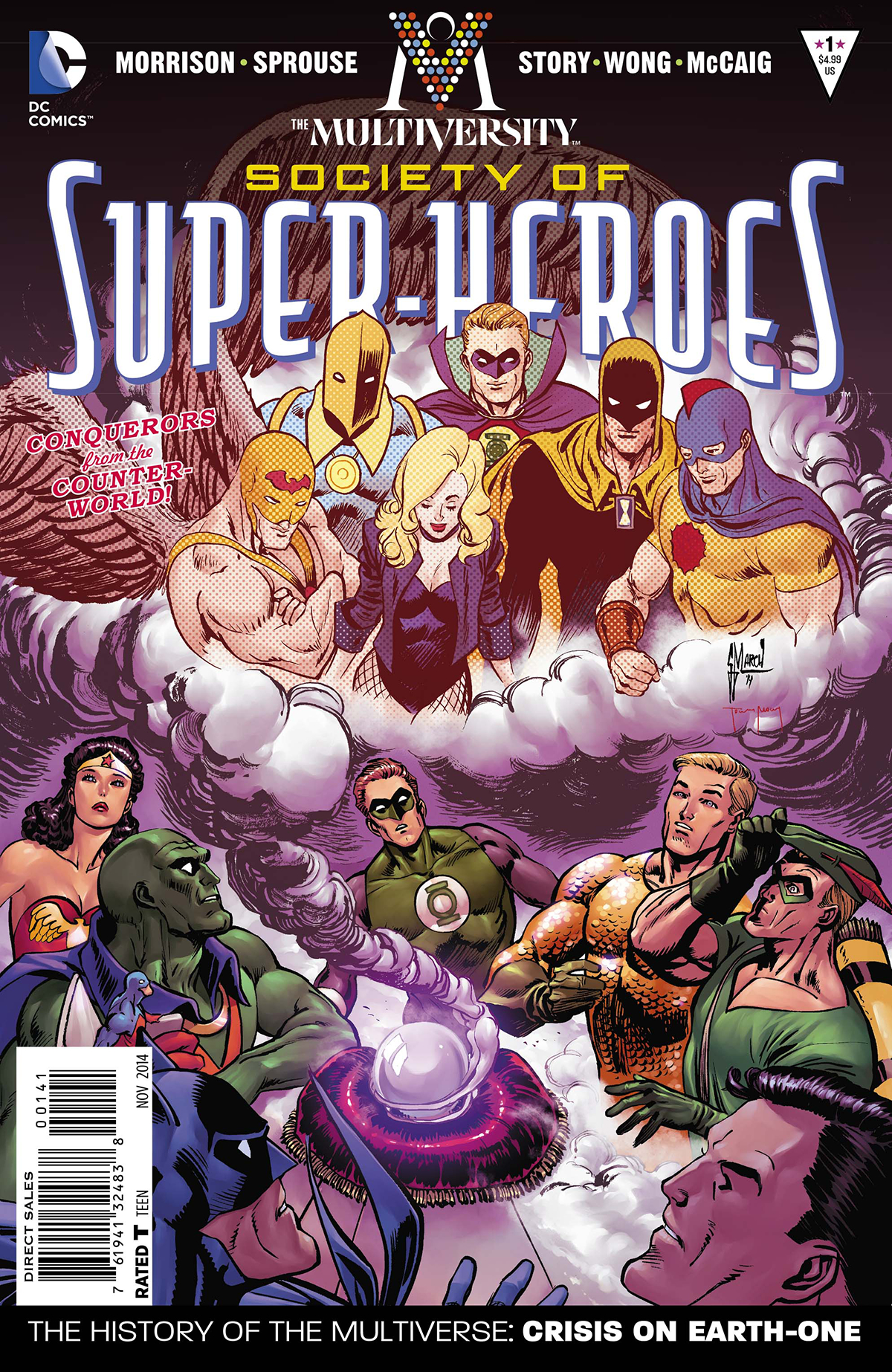 MULTIVERSITY THE SOCIETY OF SUPER-HEROES #1 MARCH VAR ED