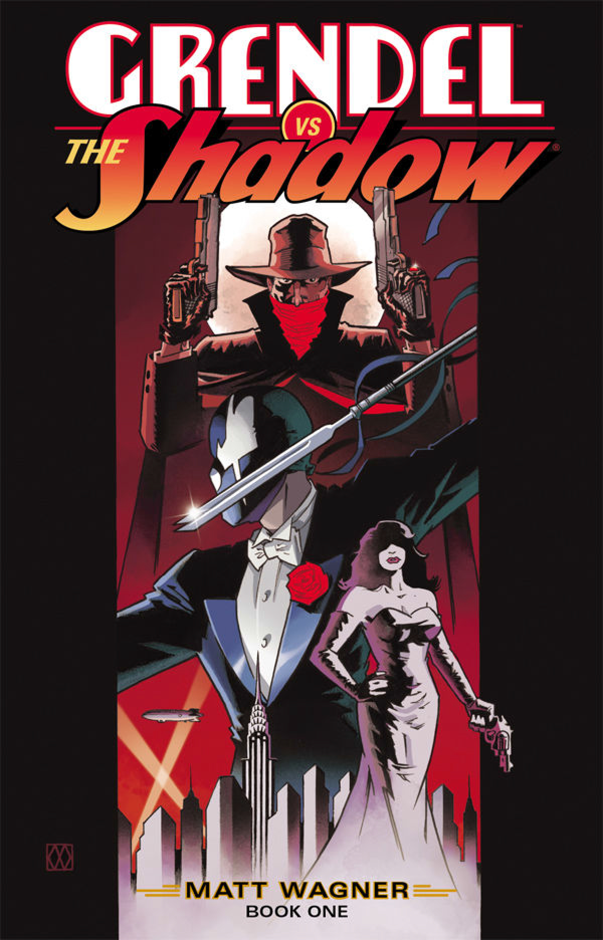 GRENDEL VS SHADOW #1