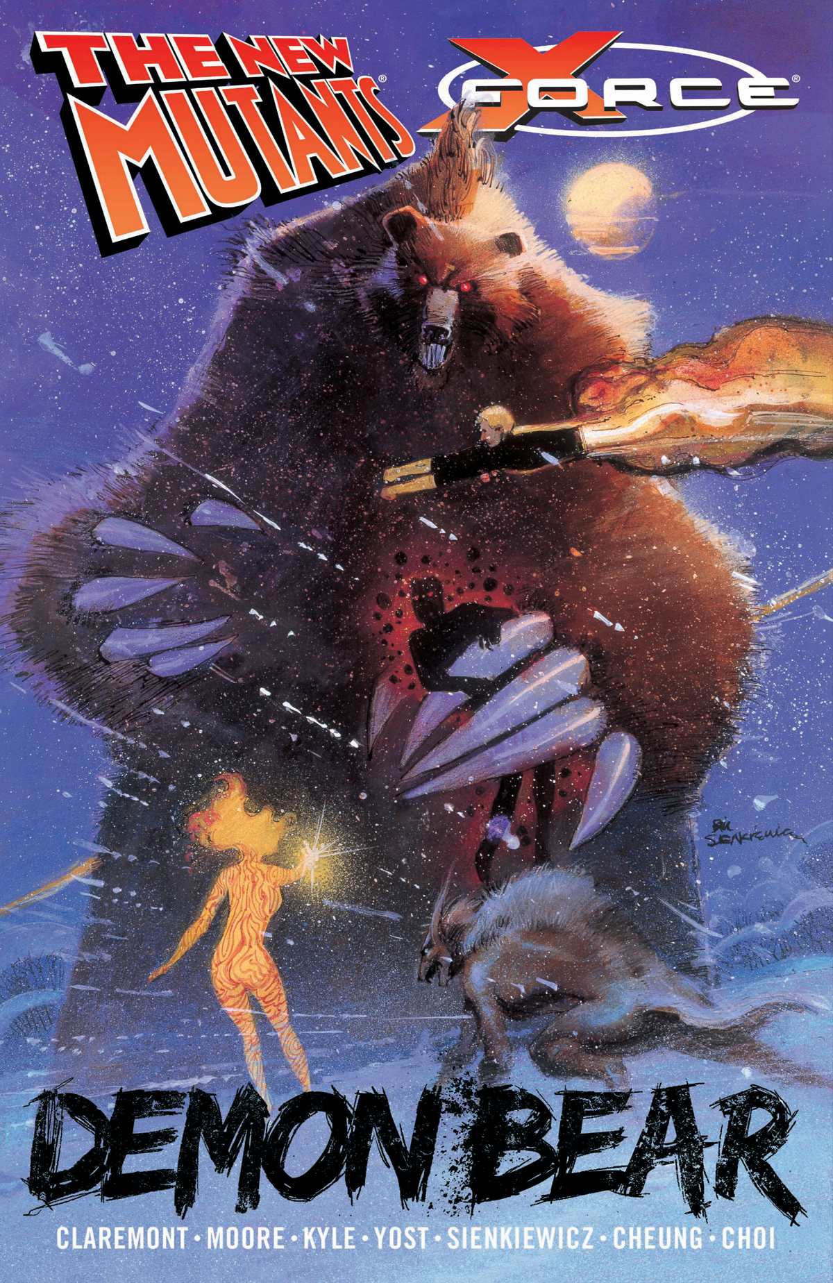NEW MUTANTS X-FORCE TP DEMON BEAR