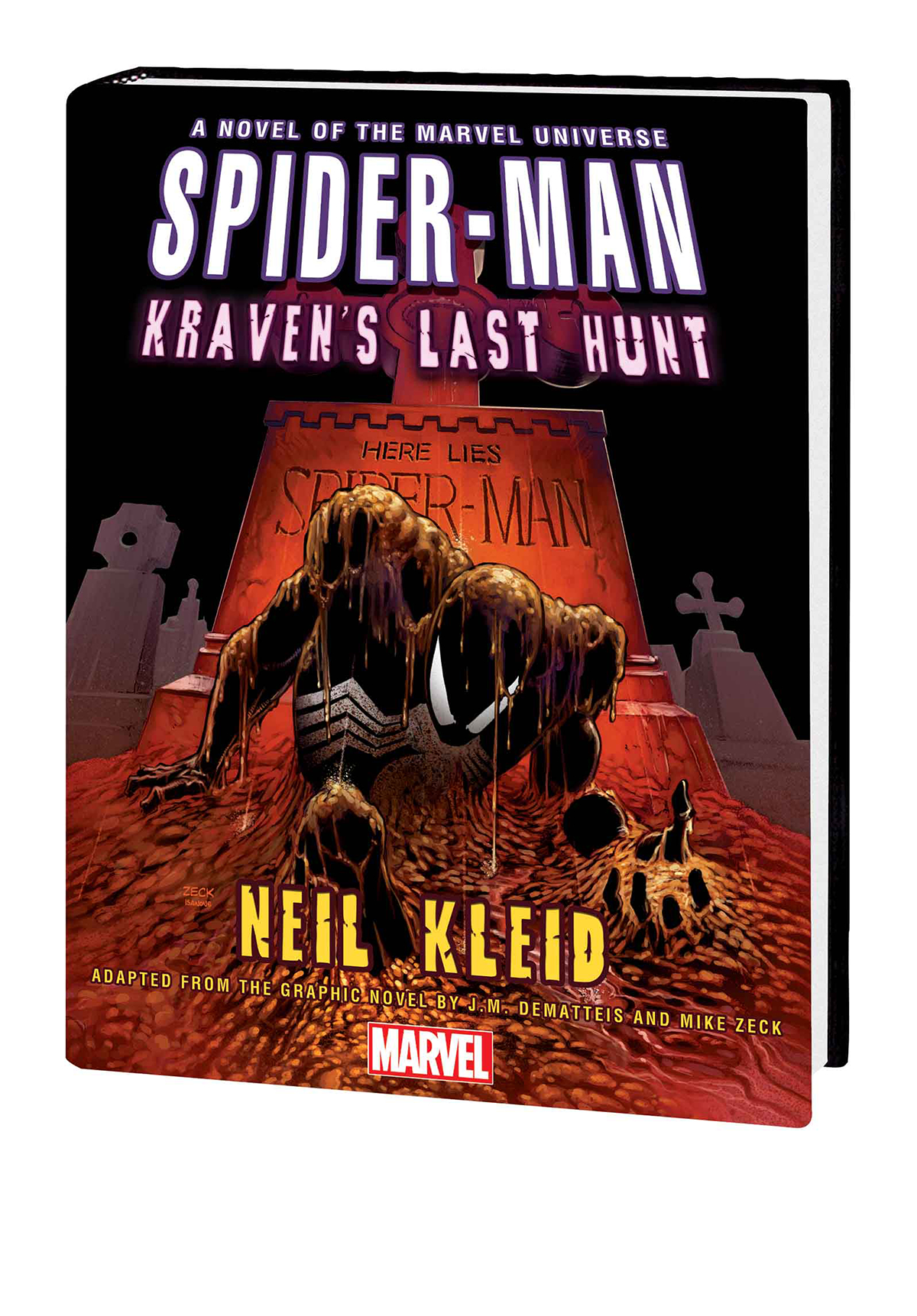 SPIDER-MAN KRAVENS LAST HUNT PROSE NOVEL HC