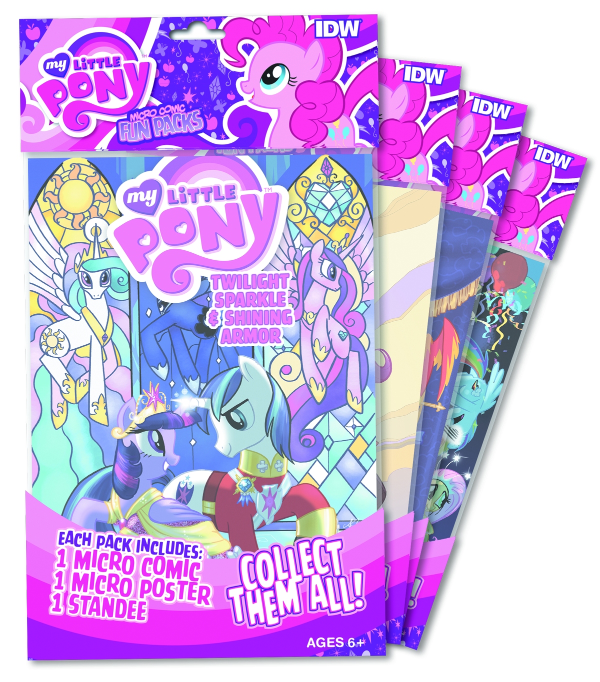 MY LITTLE PONY MICRO COMIC FUN PACK SER 3 DSP