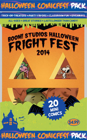 HCF 2014 BOOM HALLOWEEN FRIGHT FEST MINI PACK