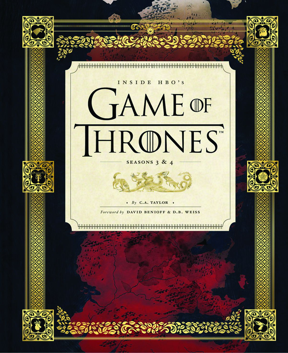 INSIDE HBOS GAME OF THRONES HC VOL 01 SEASON 3 & 4