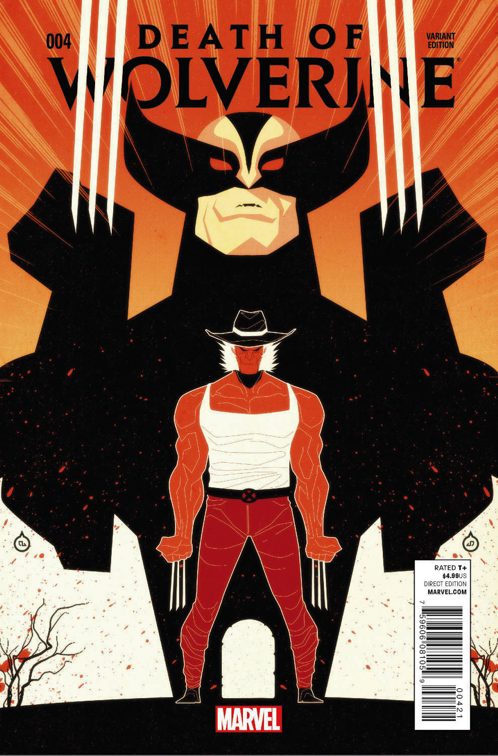 DEATH OF WOLVERINE #4 (OF 4) DOE VAR