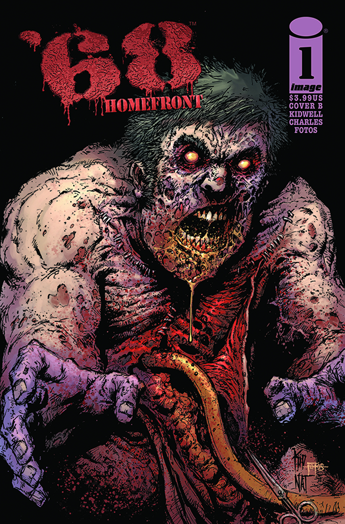 68 HOMEFRONT #1 (OF 4) CVR B KIDWELL & JONES & FOTOS