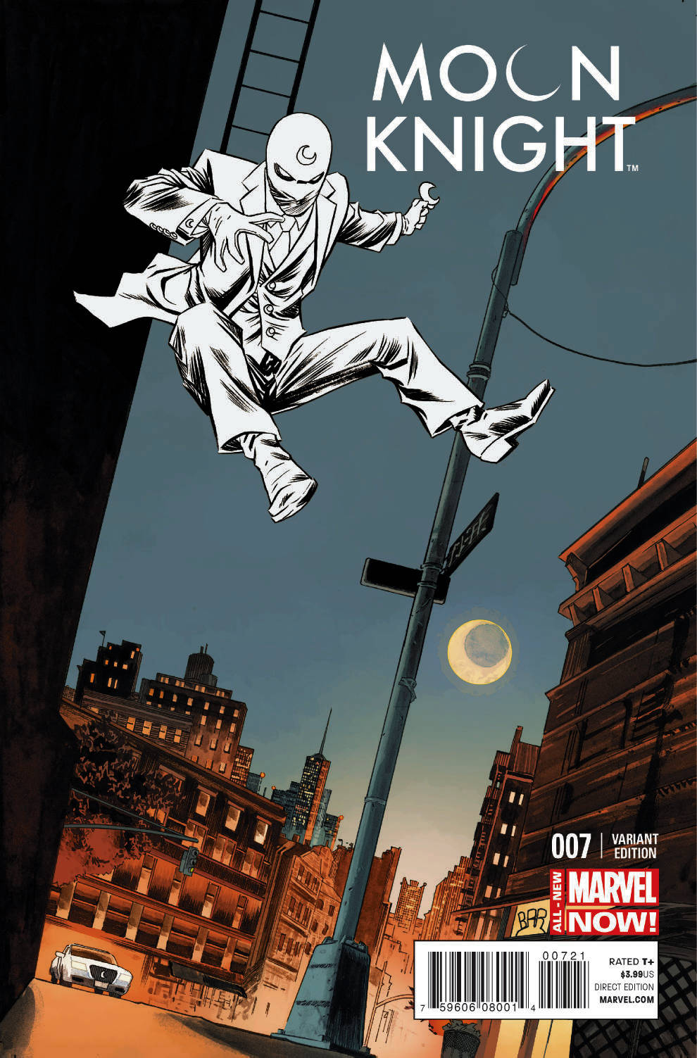 MOON KNIGHT #7 SHALVEY VAR