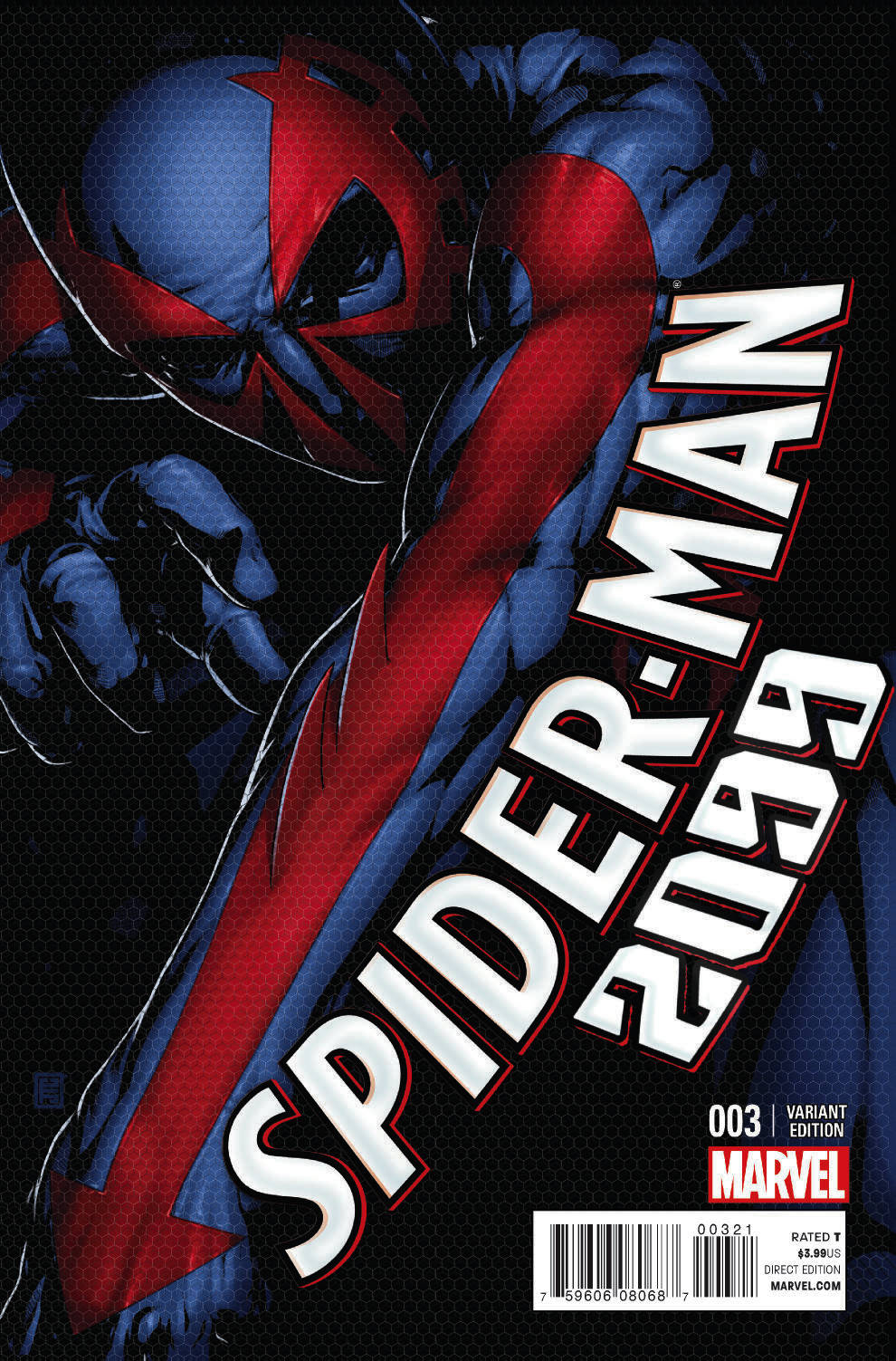 SPIDER-MAN 2099 #3 CHRISTOPHER VAR