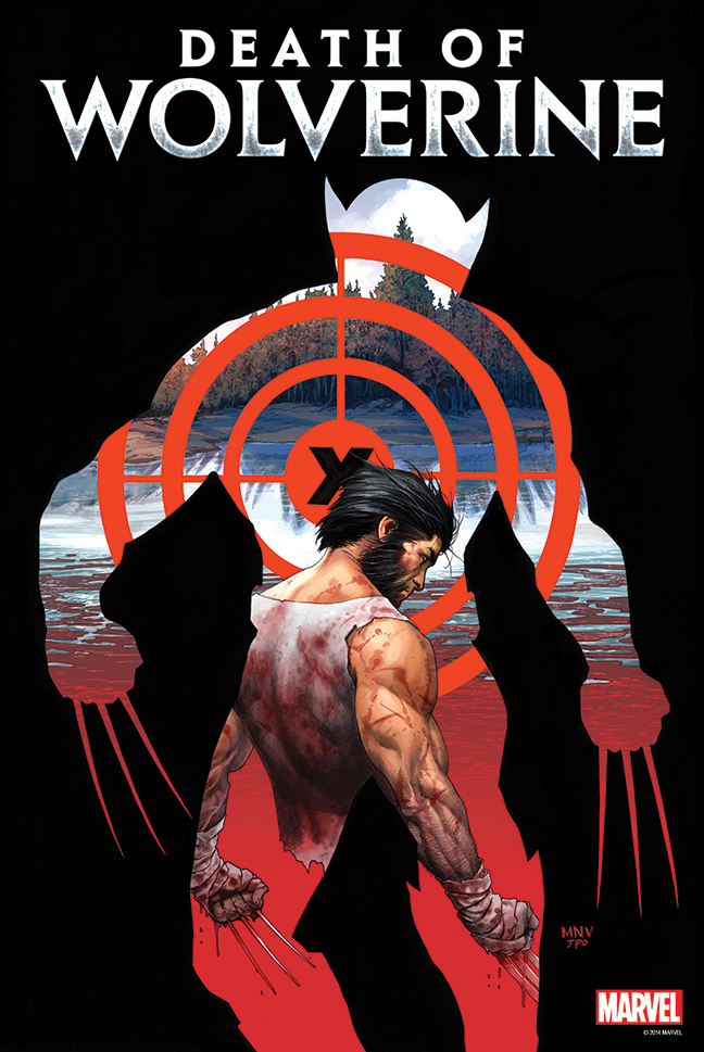 DEATH OF WOLVERINE #1 POSTER