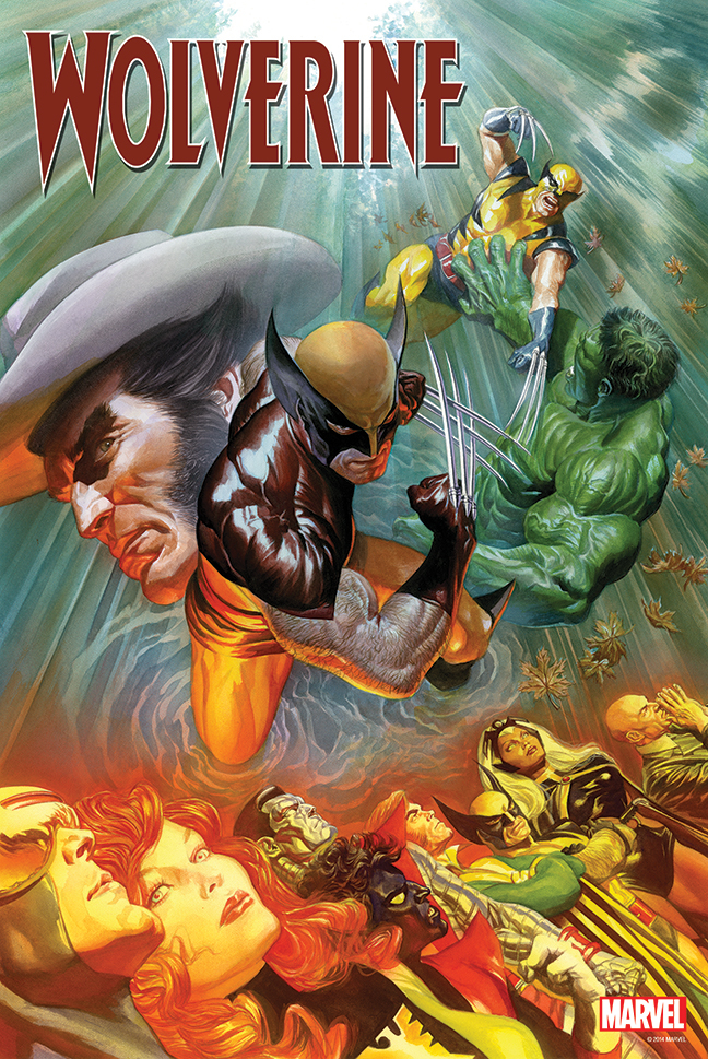 WOLVERINE BY ALEX ROSS POSTER