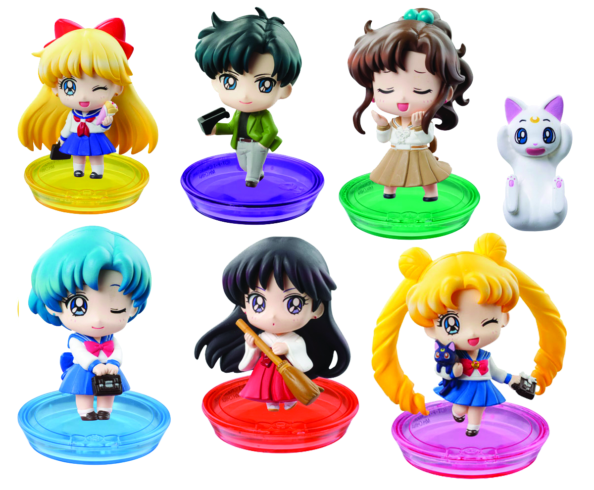 SAILOR MOON PS PETIT CHARA LAND SER 03 BOX SET
