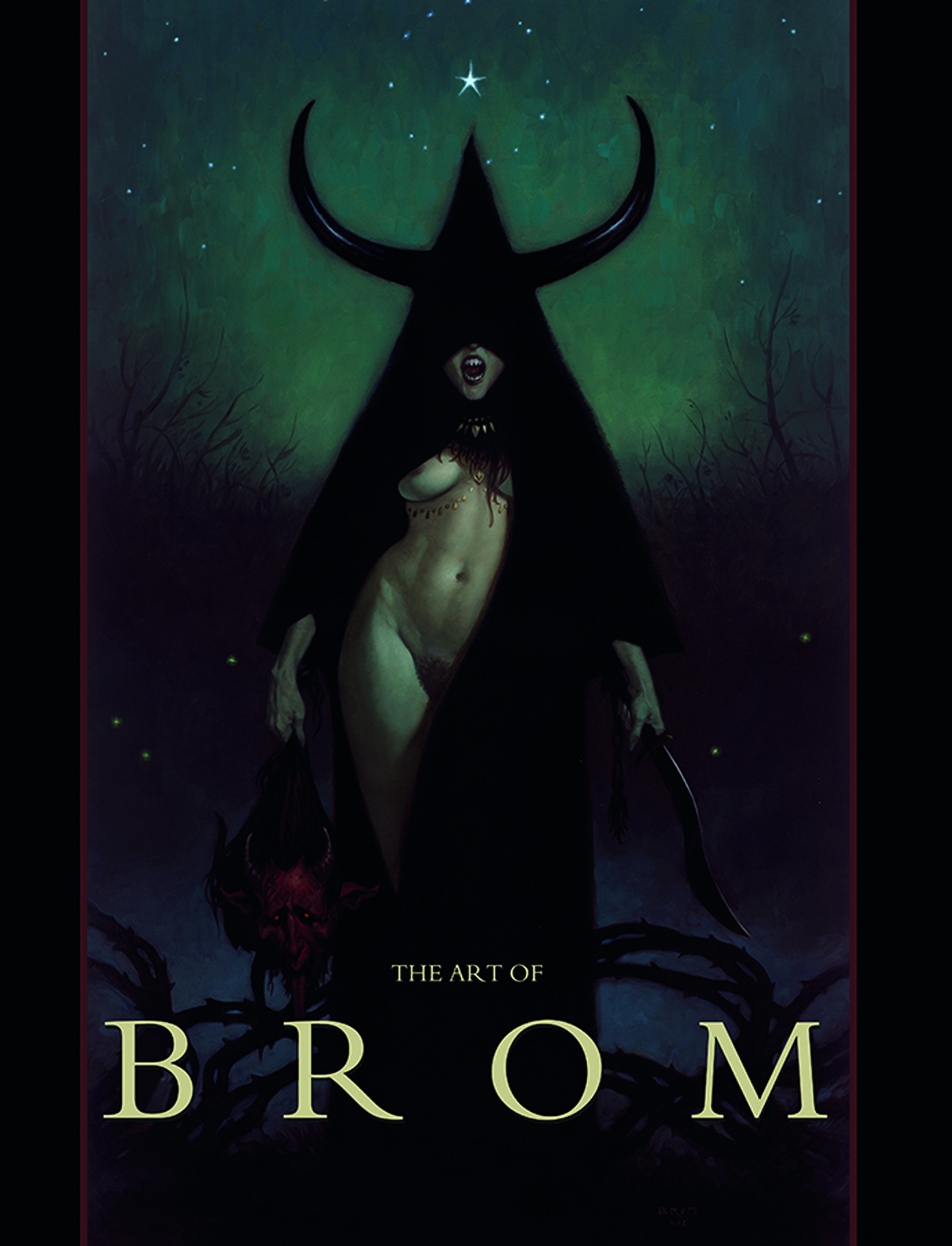 ART OF BROM PUBLISHER ED NUDE CVR HC