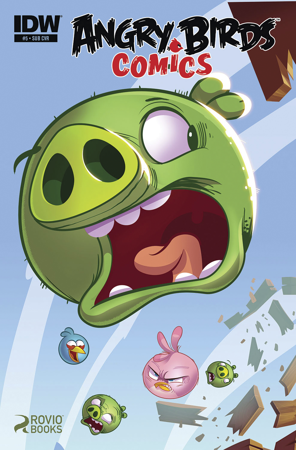ANGRY BIRDS COMICS #5 SUBSCRIPTION VAR