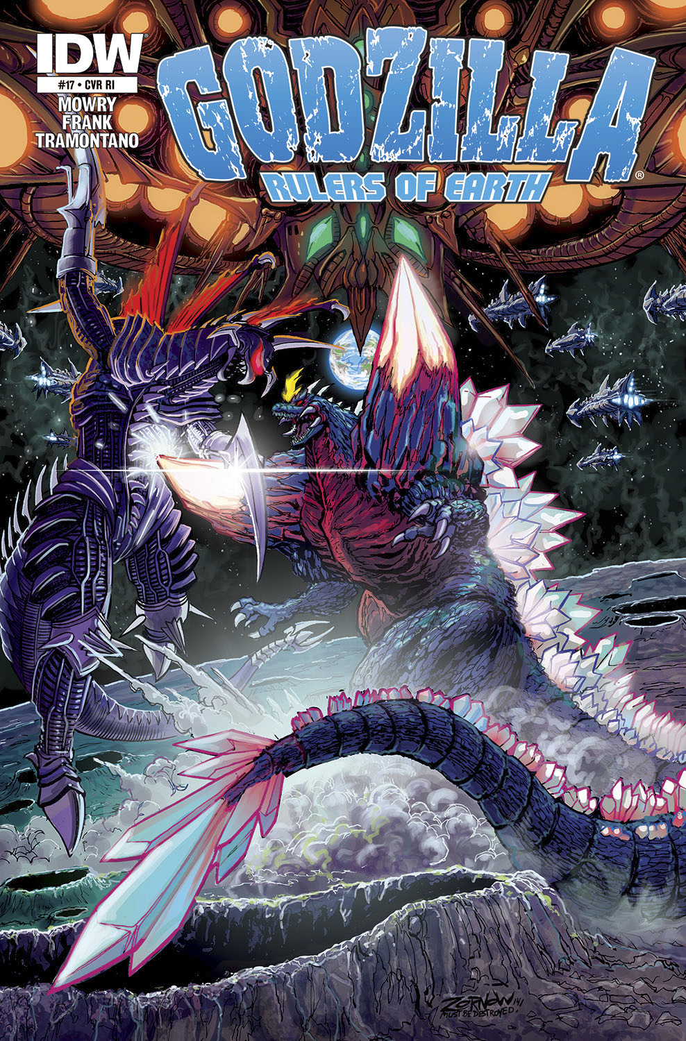 GODZILLA RULERS OF THE EARTH #17 SUBSCRIPTION VAR