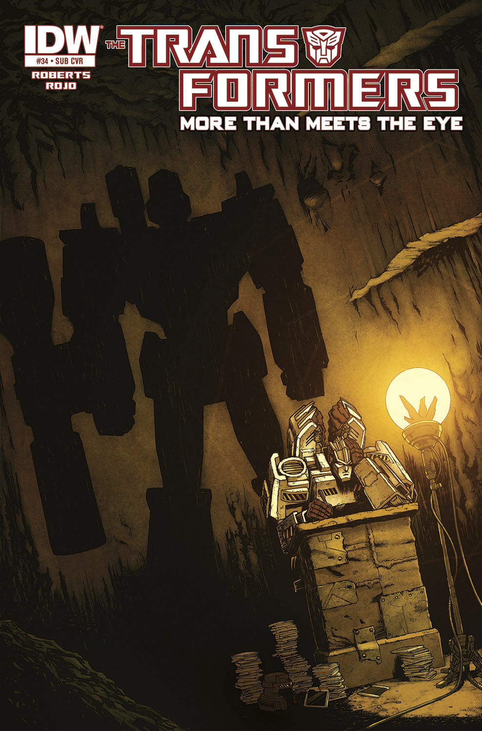 TRANSFORMERS MORE THAN MEETS EYE #34 SUBSCRIPTION VAR