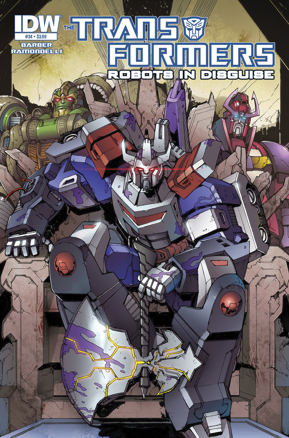 TRANSFORMERS ROBOTS IN DISGUISE #34 DAWN O/T AUTOBOTS