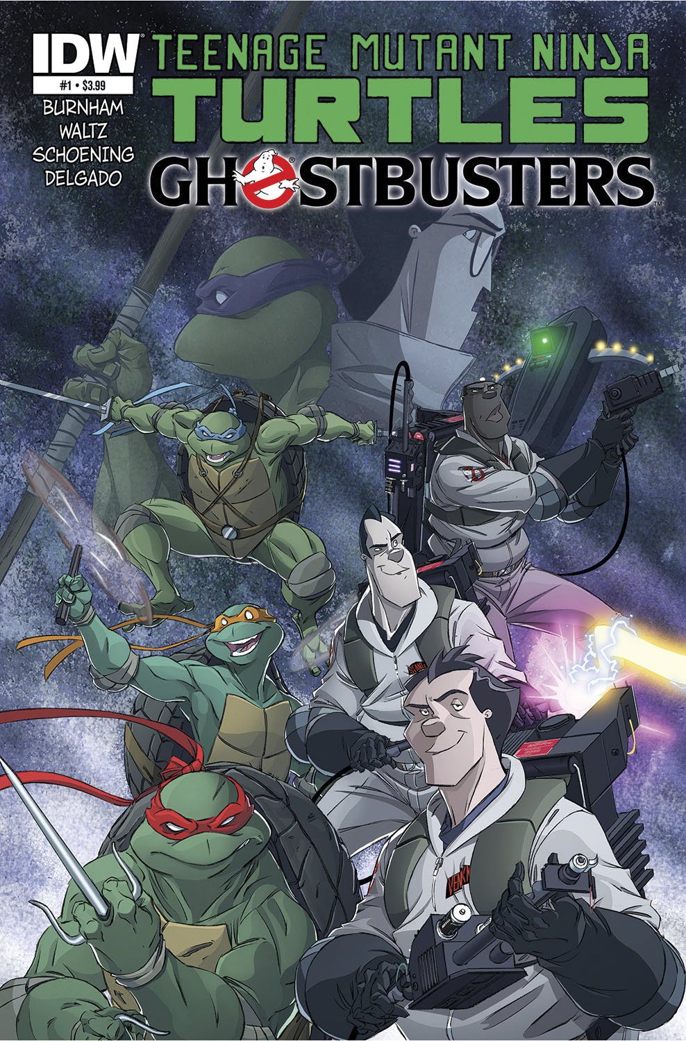 (USE SEP148234) TMNT GHOSTBUSTERS #1