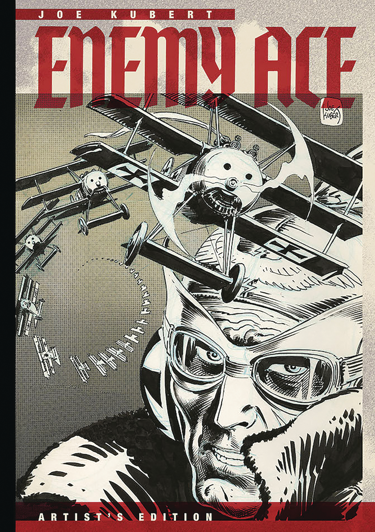 JOE KUBERT ENEMY ACE ARTIST ED HC