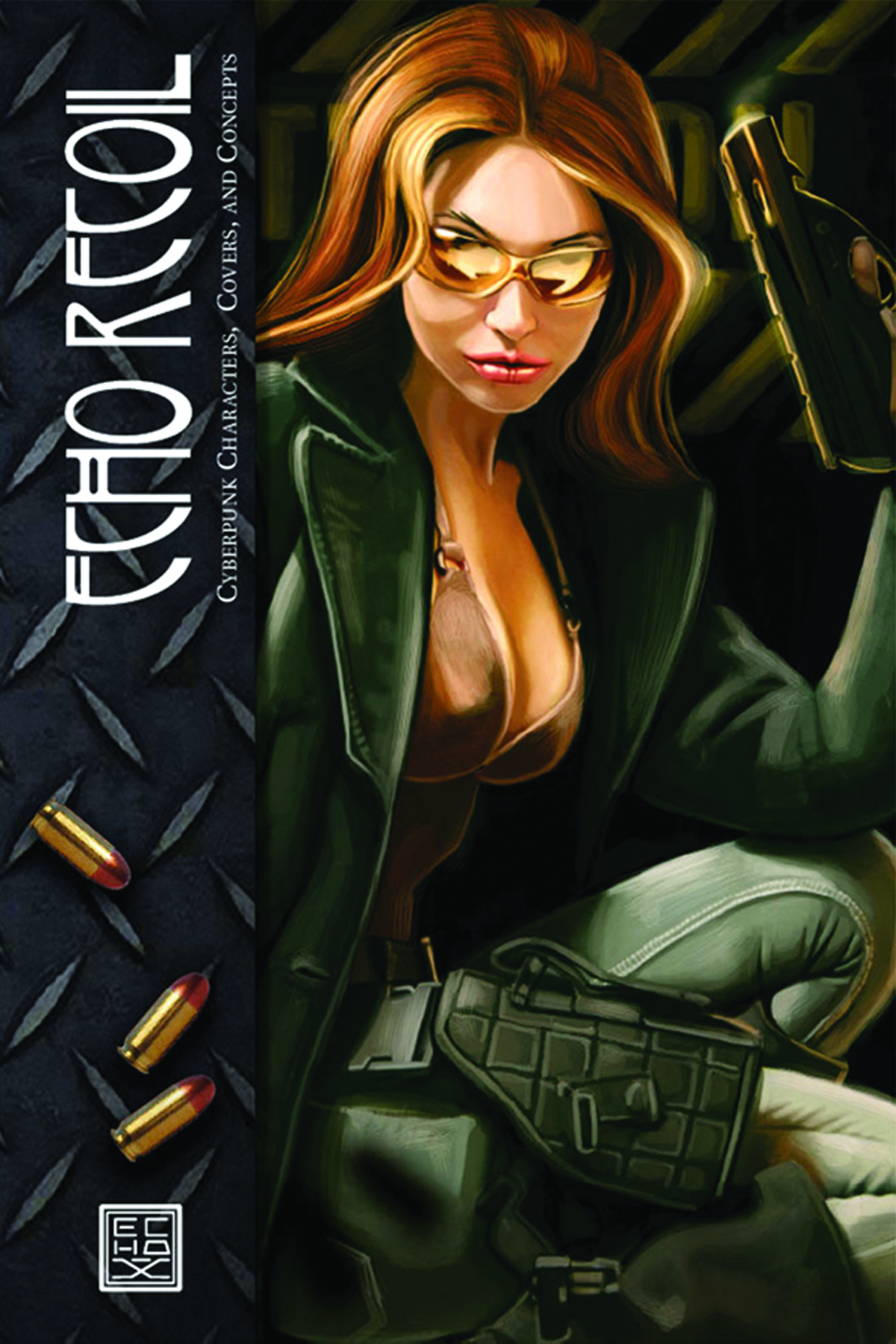 ECHO RECOIL CYBERPUNK CHARACTERS COVERS & CONCEPTS HC