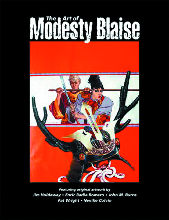 ART OF MODESTY BLAISE SC