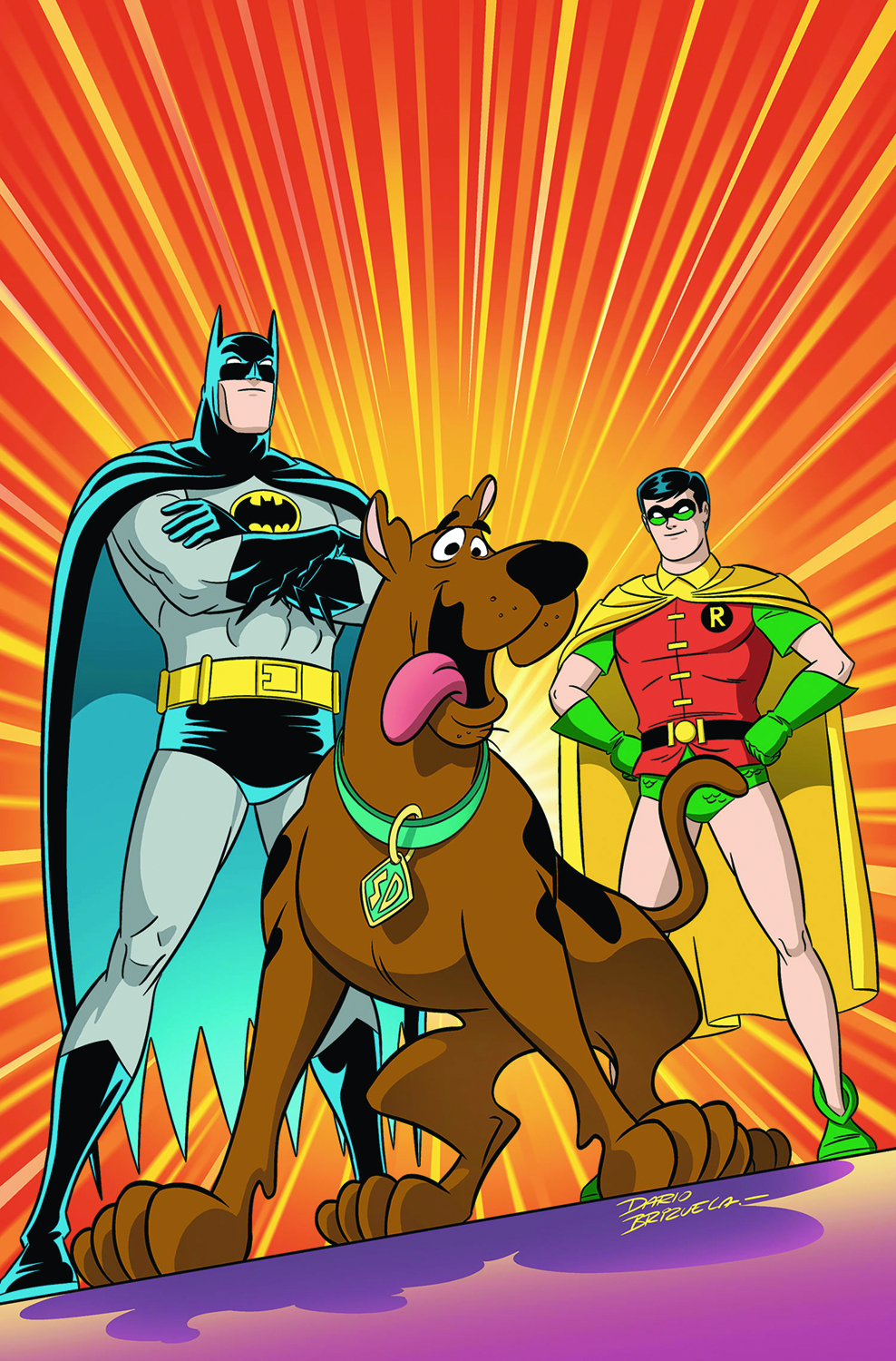 SCOOBY DOO TEAM UP TP VOL 01