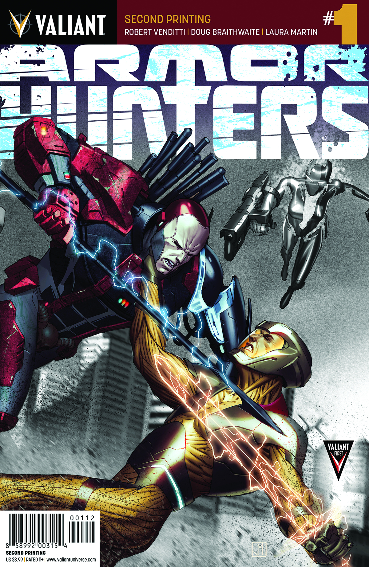 ARMOR HUNTERS #1 (OF 4) 2ND PTG