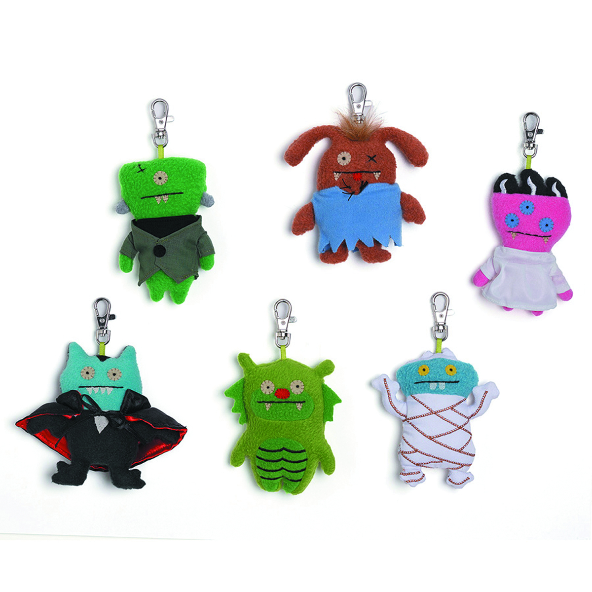 UGLYDOLL UNIVERSAL MONSTER PLUSH CLIP-ON ASST