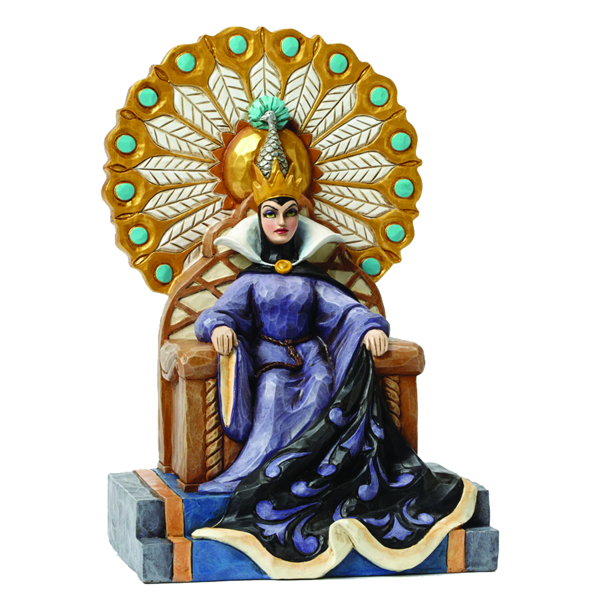 DISNEY TRADITIONS EVIL ENTHRONED FIG