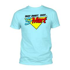 ARMY OF DARKNESS S-MART LIGHT BLUE PX T/S SM