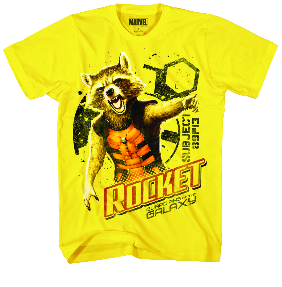 GOTG BRO BANDIT PX YELLOW T/S MED