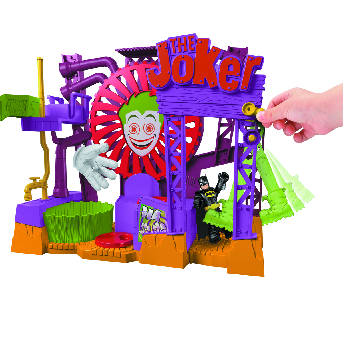 IMAGINEXT DC SUPERFRIENDS JOKER LAFF FACTORY