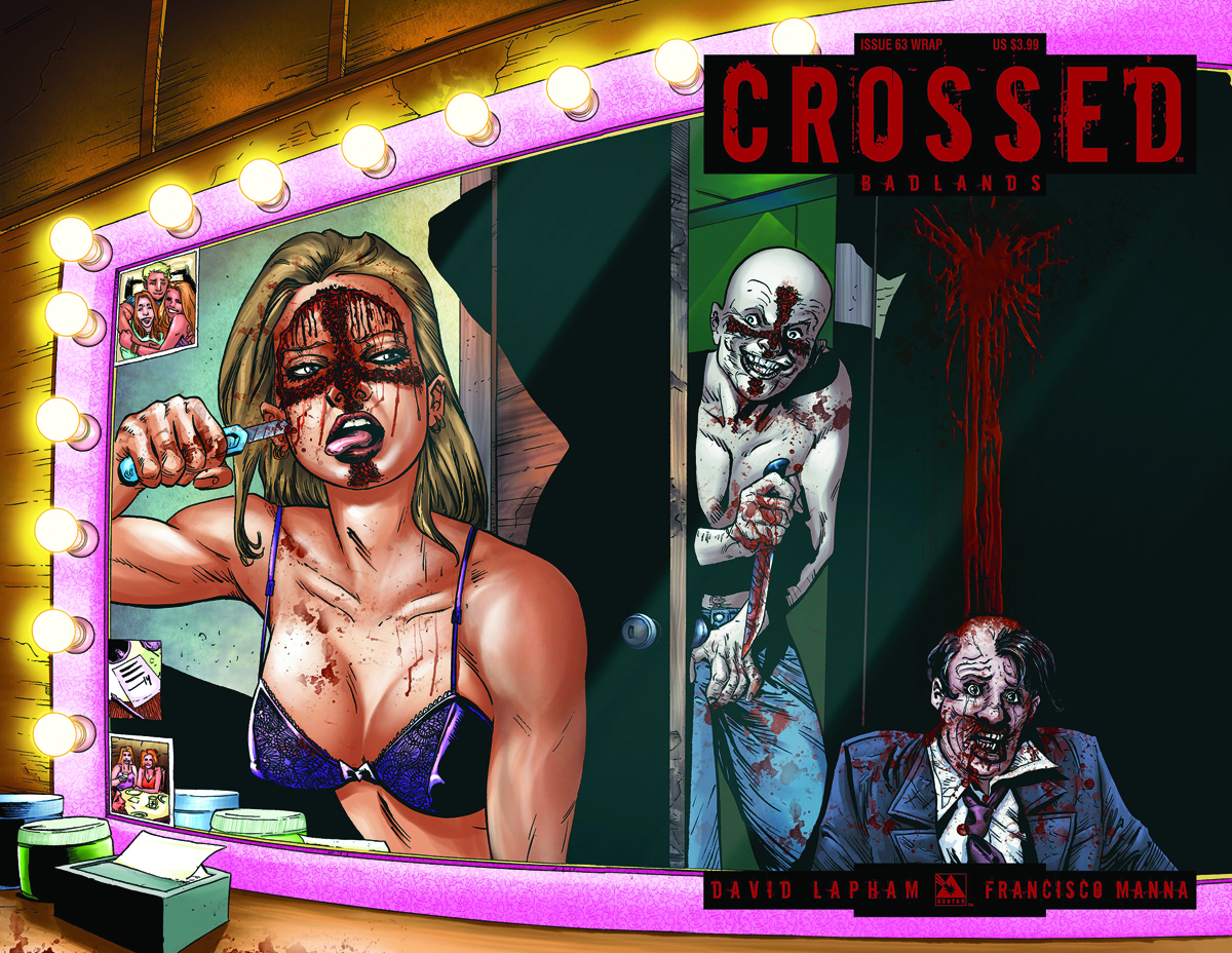 CROSSED BADLANDS #63 WRAP CVR