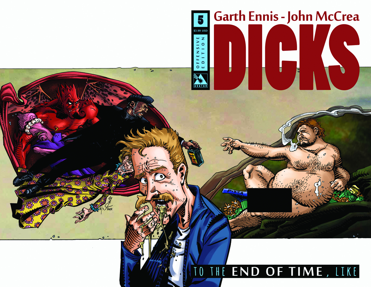 DICKS END OF TIME #5 OFFENSIVE CVR