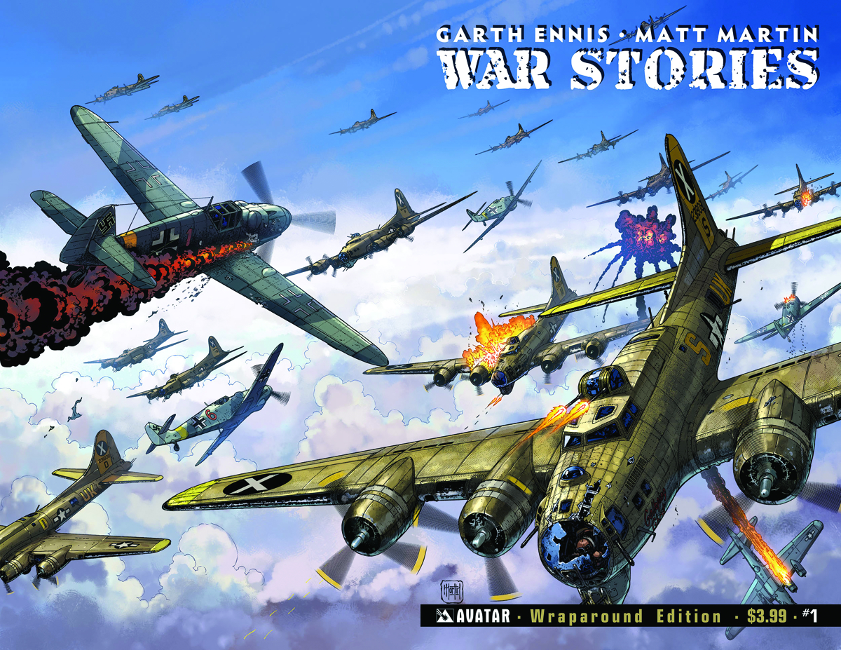 WAR STORIES #1 WRAP CVR