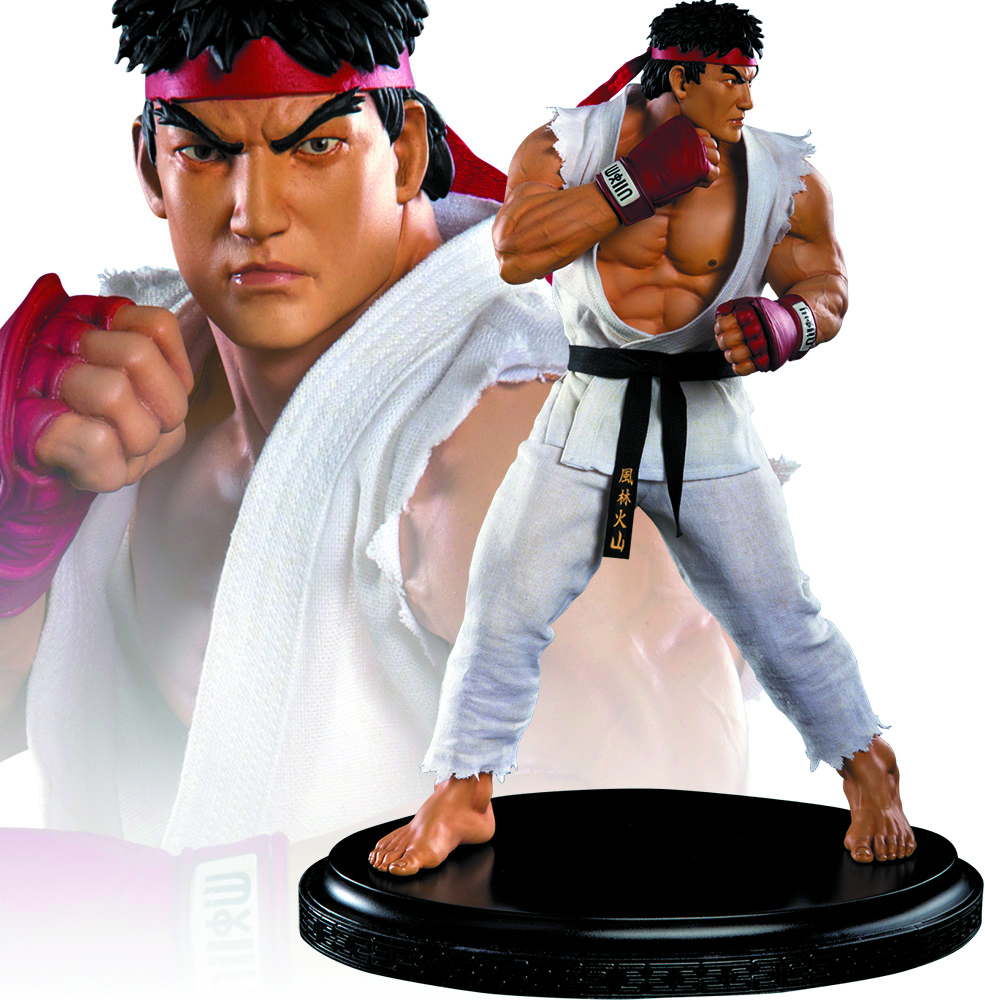 STREET FIGHTER 1/4 SCALE RYU STATUE