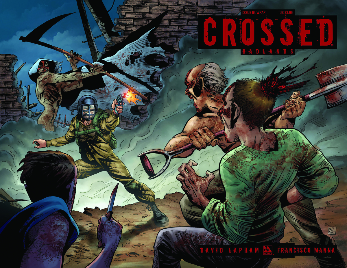 CROSSED BADLANDS #64 WRAP CVR (MR)