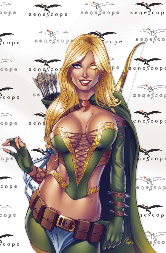 GFT GRIMM FAIRY TALES #100 H CVR RED CARPET ROBYN CHATZOUDIS
