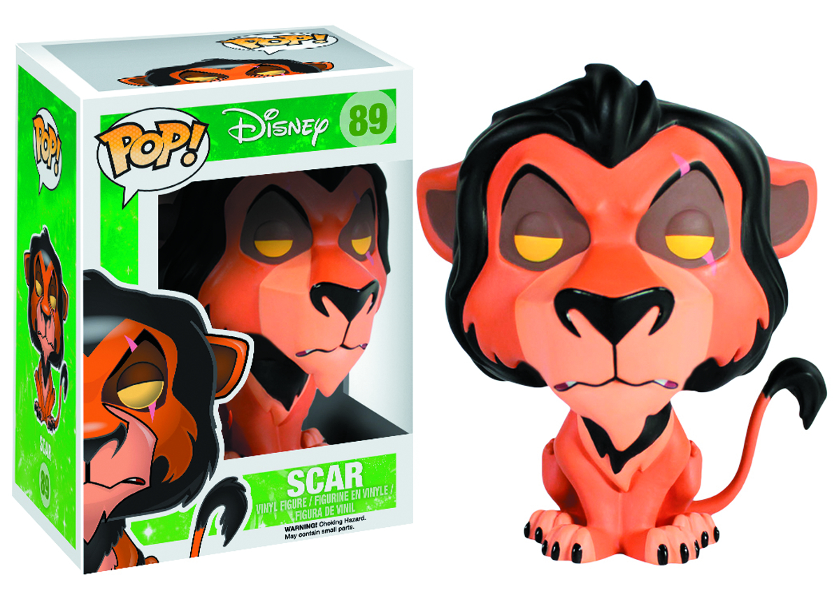 POP LION KING SCAR VINYL FIG