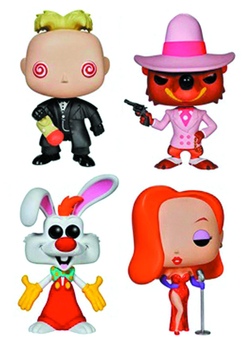 Aug142705 Pop Roger Rabbit Smarty Weasel Vinyl Fig