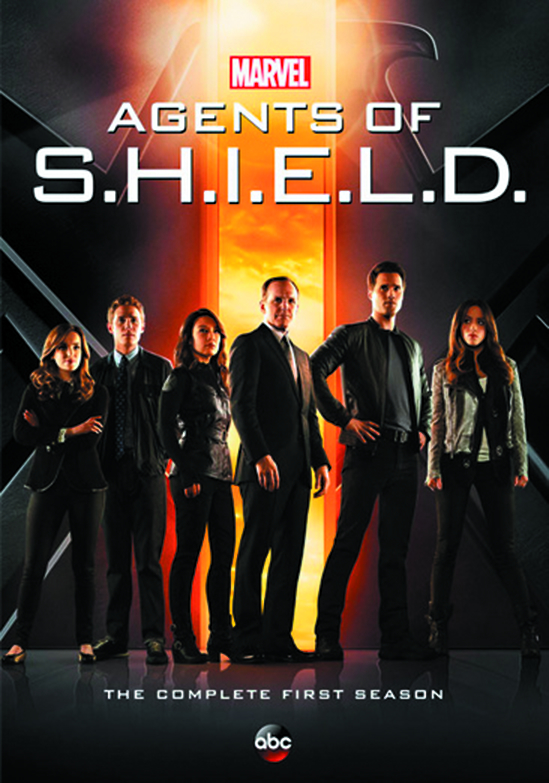 AGENTS OF SHIELD DVD SEA 01