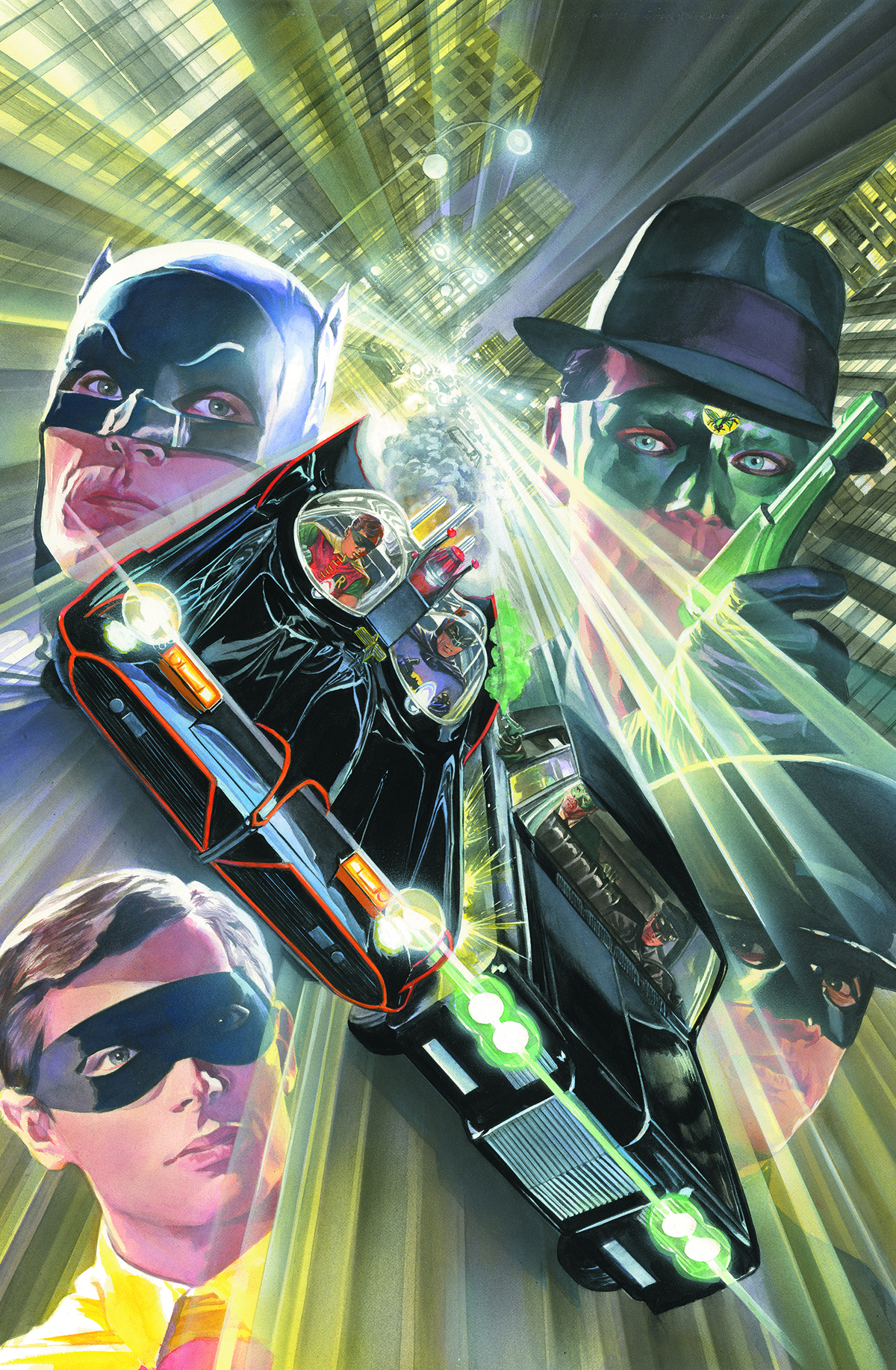 BATMAN 66 MEETS GREEN HORNET #5
