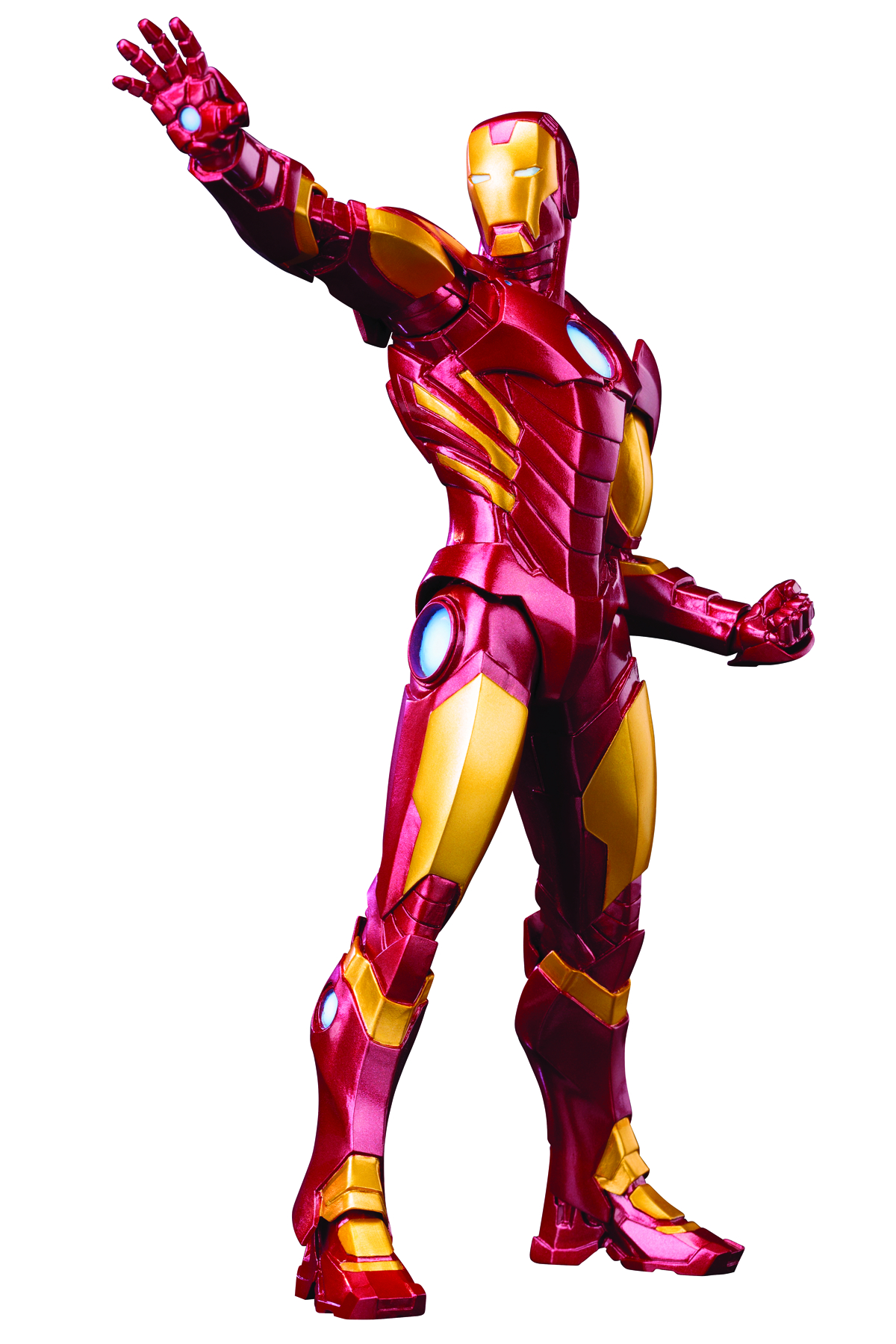 AVENGERS NOW IRON MAN ARTFX+ STATUE RED VER