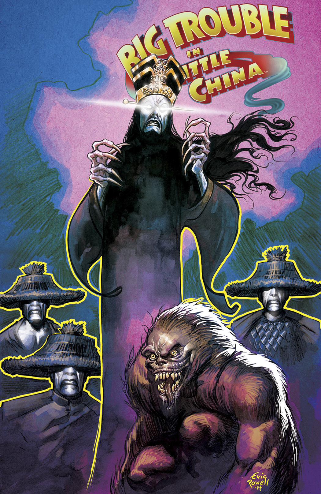 BIG TROUBLE IN LITTLE CHINA #5 MAIN CVRS