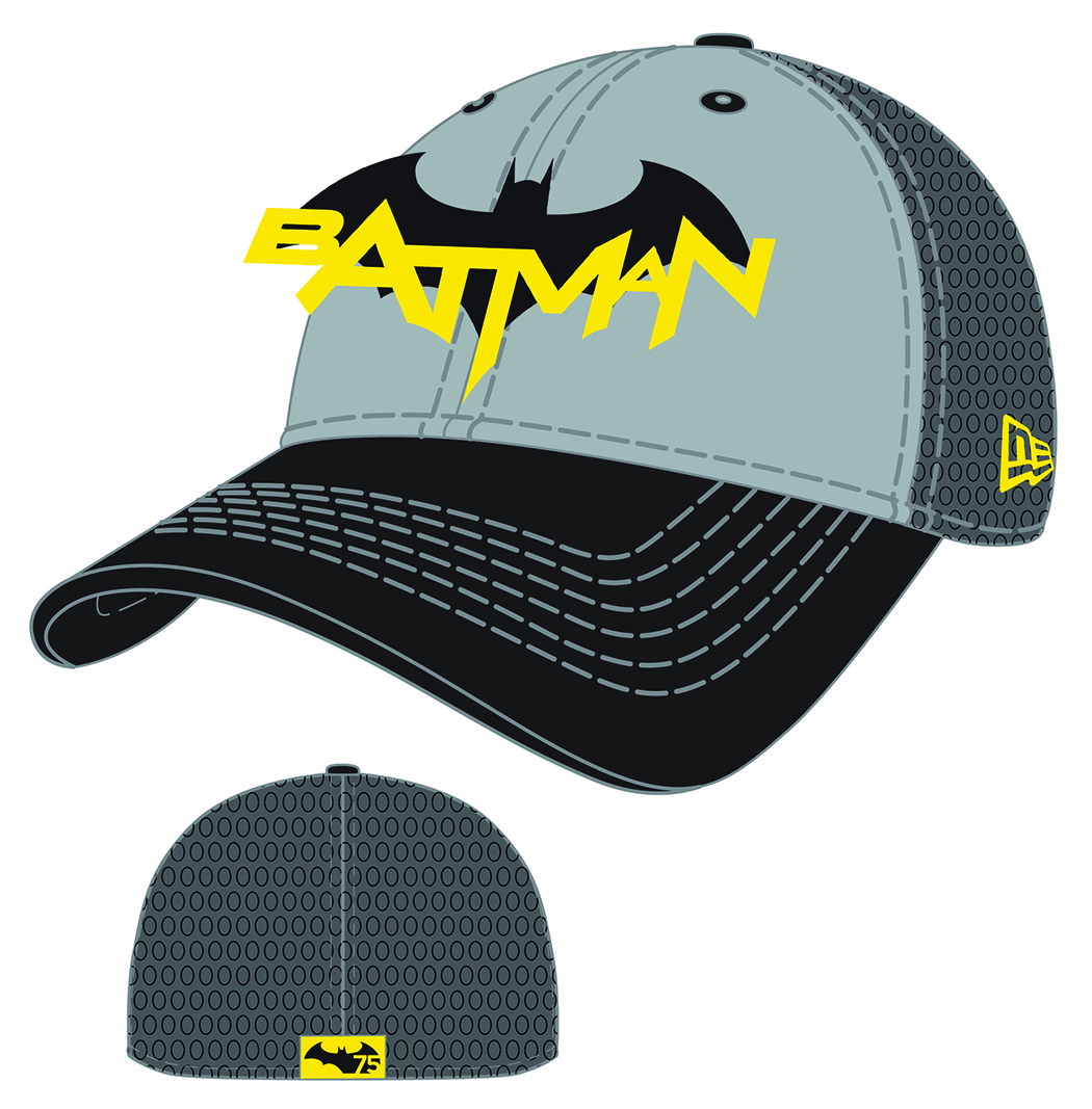 BATMAN 75TH DARK KNIGHT RETURNS PX SNAP BACK CAP